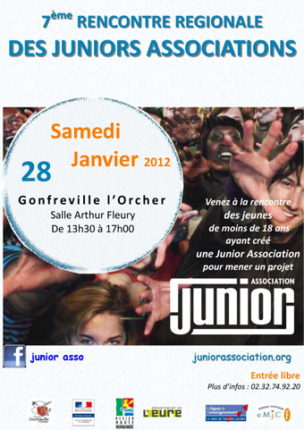 Affiche Rencontre régionale des juniors associations
